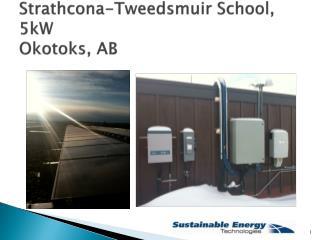 Strathcona-Tweedsmuir  School, 5kW Okotoks, AB
