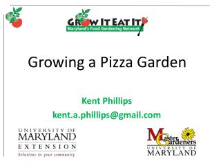 Growing a Pizza Garden
