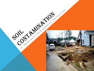 Soil Contamination