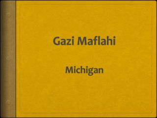Gazi Maflahi