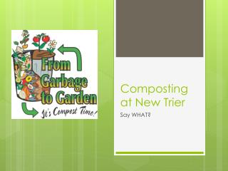 Composting at New Trier