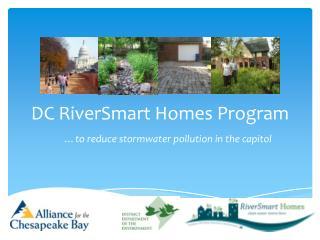 DC RiverSmart Homes Program
