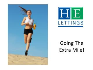 Going The Extra Mile!
