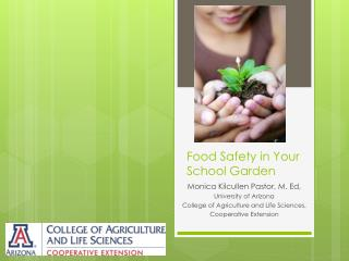 Food Safety in Your School Garden