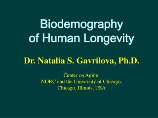 Biodemography of human longevity