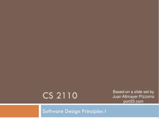 CS 2110