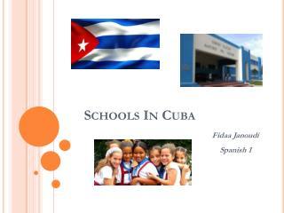 Schools In Cuba