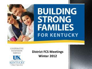 Building our FCS Program Framework