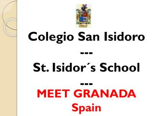 MEET GRANADA Spain