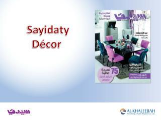 Sayidaty Décor