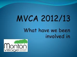MVCA  2012/13