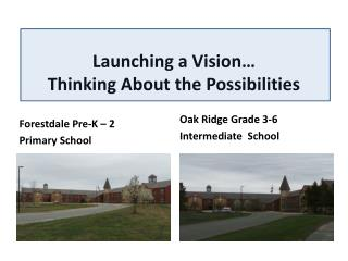 Launching a Vision… Thinking About the Possibilities