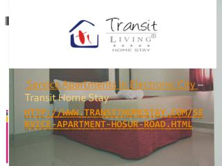 service apartments in electronic city