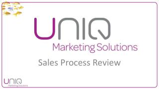 Sales Process Review
