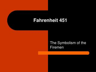 a paper on the symbol of phoenix in fahrenheit 451 Fahrenheit 451: the hope of the phoenix essays: over 180,000 fahrenheit 451: the hope of the phoenix essays, fahrenheit 451: the hope of the phoenix term papers, fahrenheit 451: the hope of the phoenix research paper, book reports 184 990 essays, term and research papers available for unlimited access  fahrenheit 451 involves such.