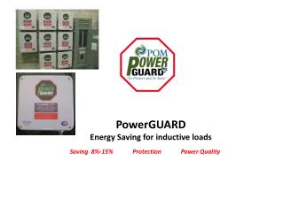PowerGUARD Energy Saving for inductive loads