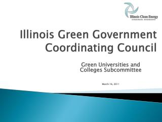 Illinois Green Government Coordinating Council