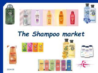 the shampoo market