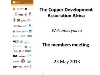 The Copper Development Association Africa