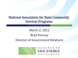National Association for State Community Services Programs
