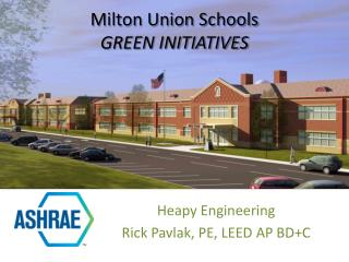 Milton Union Schools Green Initiatives