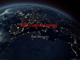 Alternative  Energy y