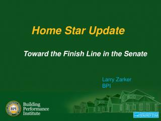 Home Star Update