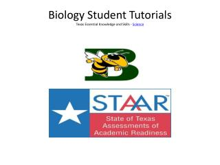 Biology Student Tutorials Texas Essential Knowledge and Skills -  Science