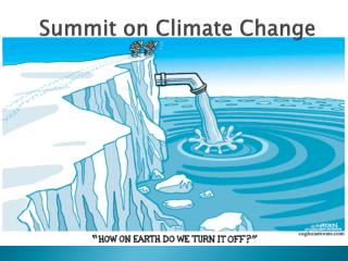 Summit on Climate Change