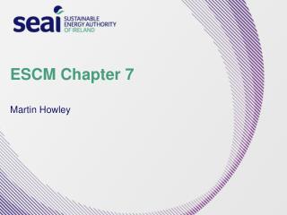 ESCM Chapter 7