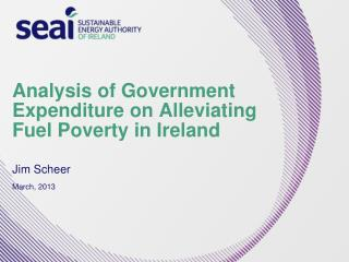 Analysis of Government Expenditure on Alleviating Fuel Poverty in Ireland