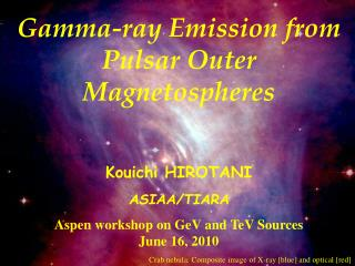 Gamma-ray Emission from Pulsar Outer Magnetospheres