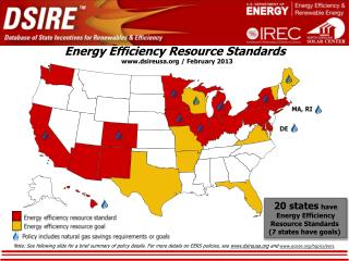 Energy Efficiency Resource  Standards .