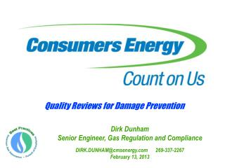 Quality Reviews for Damage Prevention