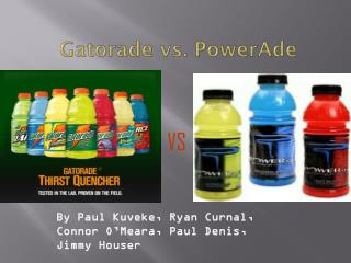 Gatorade vs. PowerAde