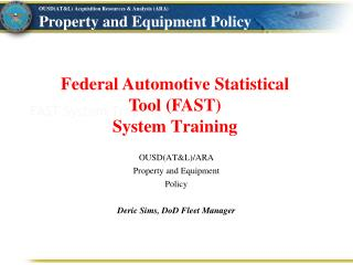 FAST System Training
