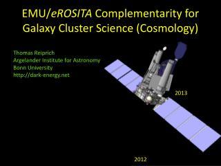 EMU/ eROSITA  Complementarity for Galaxy Cluster Science (Cosmology)
