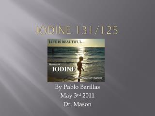iODINE 131/125