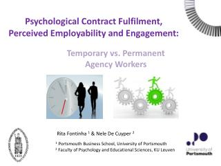 Psychological Contract Fulfilment, Perceived Employability and Engagement: