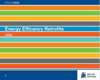 Energy  Efficency  Retrofits