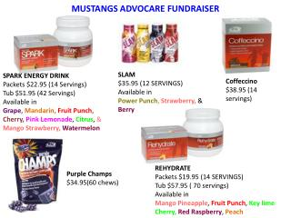 MUSTANGS ADVOCARE FUNDRAISER