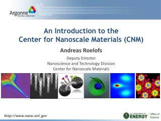 http:// www.nano.anl.gov