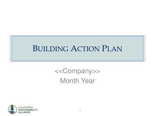 Building Action  Plan