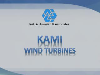 KAMI Wind Turbines