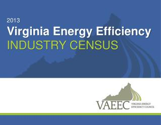 2013 Virginia Energy Efficiency Industry Census