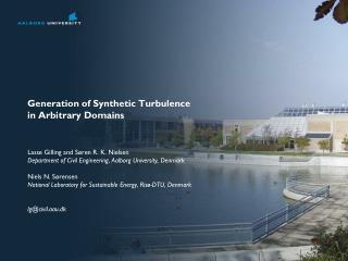 Generation of Synthetic Turbulence  in Arbitrary Domains