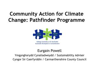 Community Action for Climate Change: Pathfinder Programme