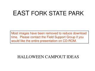 east fork state park