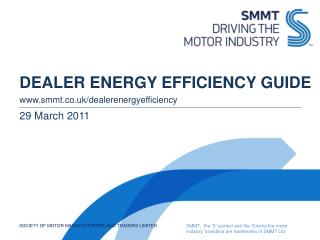 DEALER ENERGY EFFICIENCY GUIDE