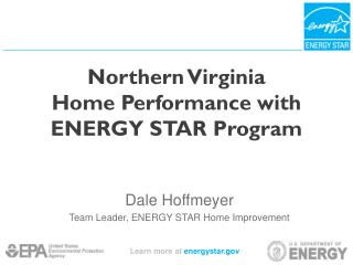 Northern Virginia  Home Performance with ENERGY STAR Program
